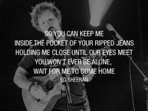 photograph sheeran