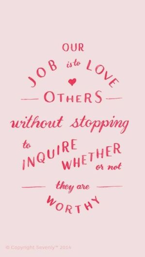 love others'