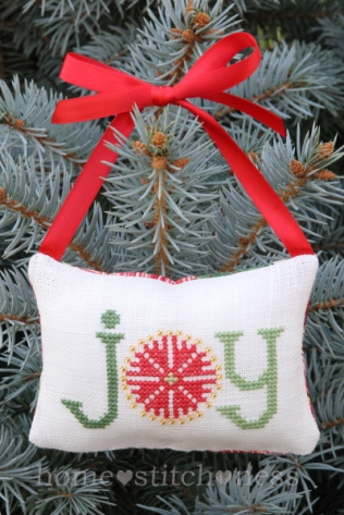 homestitchness joy decoration