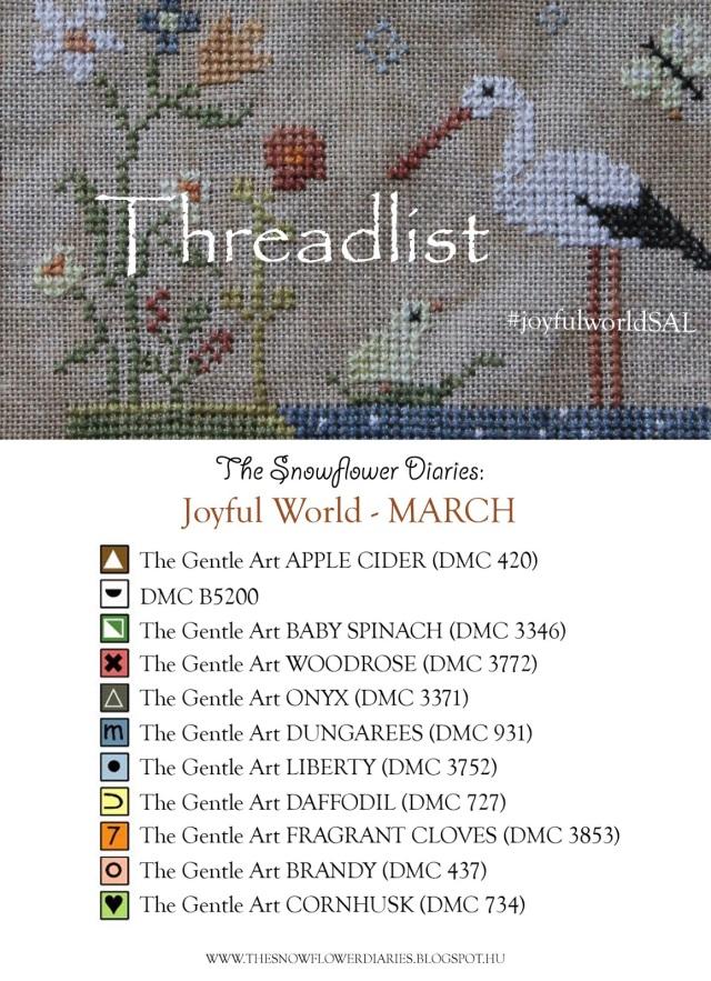 TheSnowflowerDiaries_Joyfulworld_March_Threadlist