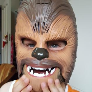 25/12 - Wookie alert!