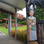 Huia at the Army marae
