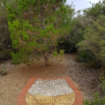 Memorial for Gallipoli at North Head