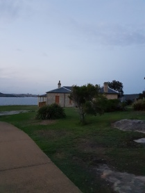 Lighthouse Keeper's cottage at Nobby's Point