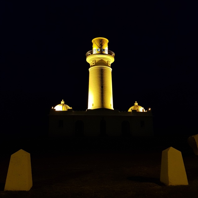 MacQuarie's Lighthouse - the oldest in Australia