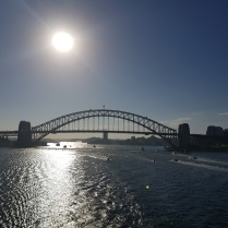 Sydney Harbour Bridge from Pacific Jewel