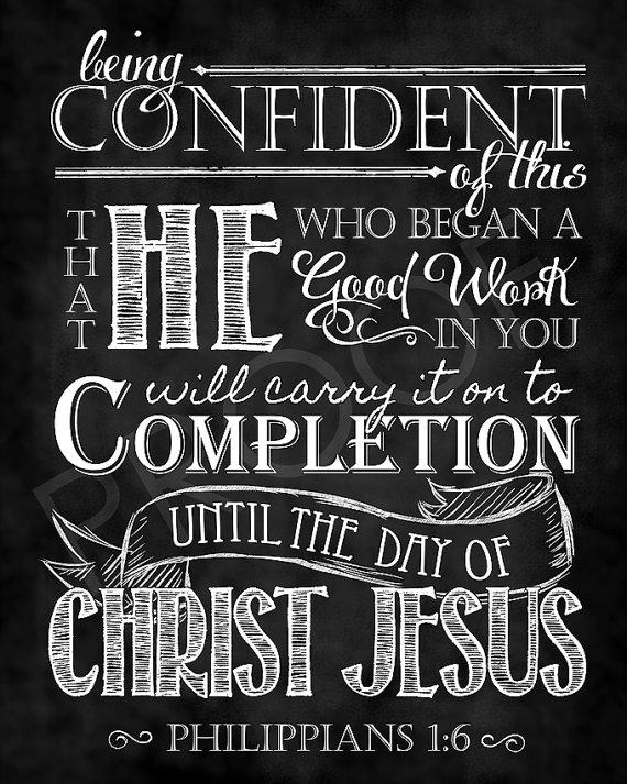 Philippians 1 6